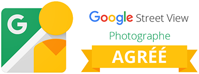 Badge Photographe agréé Google Business View