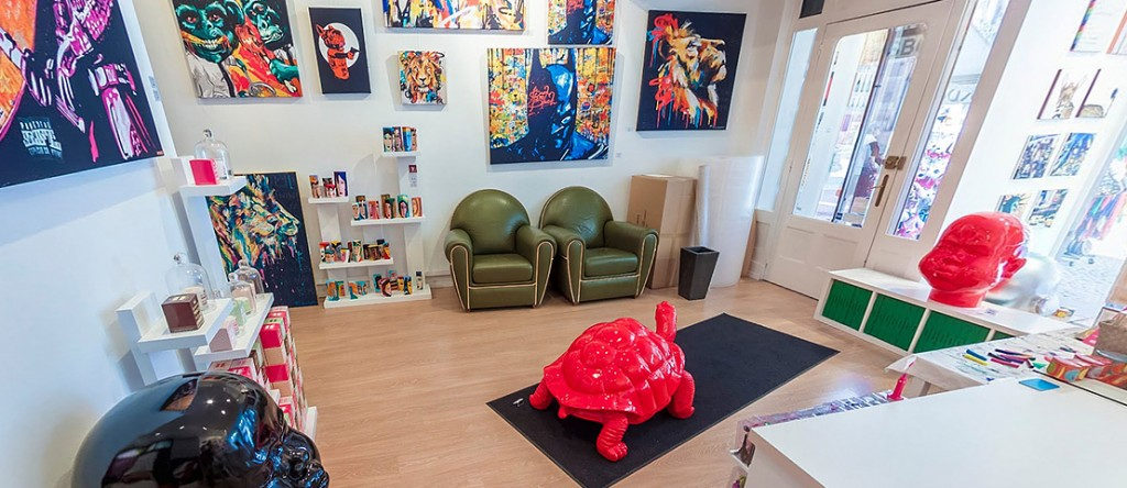 Visite virtuelle du Pop Shop à Strasbourg