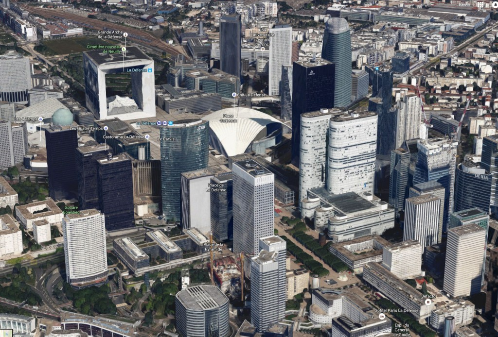 Paris en 3D sur Google Maps