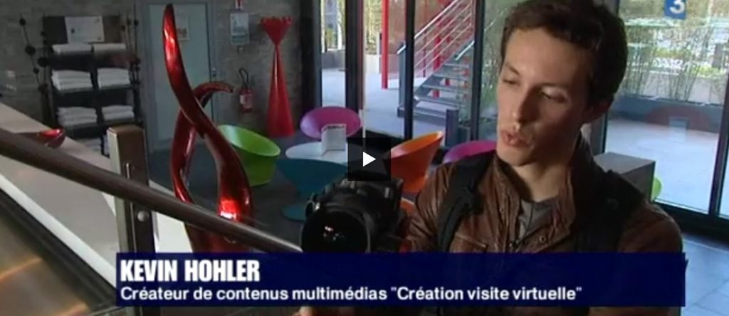 Reportage visite virtuelle Kevin Hohler
